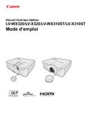 Canon LV X320 pagina 1