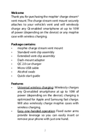 Mophie Charge Stream page 2