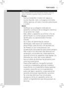 Página 3 do Philips Viva Collection HR2652