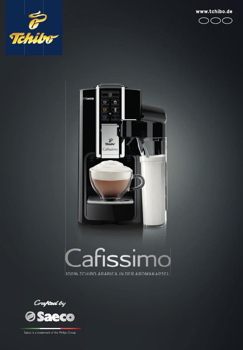 Tchibo Cafissimo Latte Manual