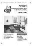 Panasonic KX-FC235NL sivu 1