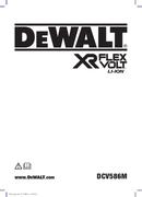 DeWalt DCV586MT2-QW page 1