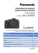 Panasonic Lumix DCF-Z10002 pagină 1
