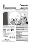 Panasonic DVD-S27 page 1