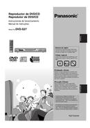 Página 1 do Panasonic DVD-S27