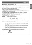 Panasonic PT-EW530 sivu 3