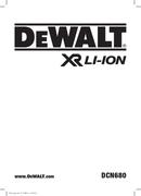 DeWalt DCN680 page 1