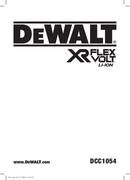DeWalt DCC1054 side 1