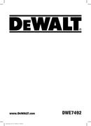 DeWalt DWE749 side 1