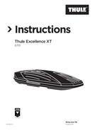 Página 1 do Thule Excellence XT