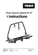 Página 1 do Thule Caravan Superb SV XT