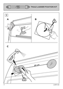Pagina 4 del Thule Ladder Fixation Kit