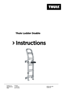 Página 1 do Thule Ladder 10 Steps