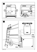 Página 3 do Thule Van Ladder 9 Steps