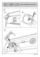 Página 4 do Thule Van Ladder 9 Steps