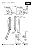 Pagina 4 del Thule Ladder Deluxe 6 Steps