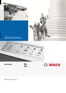 Pagina 1 del Bosch SMS53N72EU