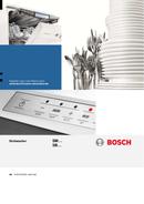 Pagina 1 del Bosch SMS50E92EU