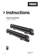 Página 1 do Thule SnowPack 7324