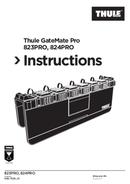 Pagina 1 del Thule GateMate Pro 823PRO