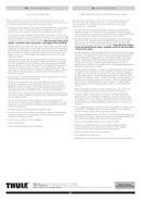 Pagina 5 del Thule GateMate Pro 823PRO