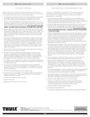 Página 5 do Thule Foot Pack 387