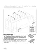 Página 2 do Thule TracRac Van 29056XT