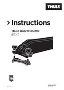 Página 1 do Thule Board Shuttle 811XT
