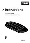 Página 1 do Thule Force XT 6358B