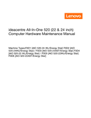 Página 1 do Lenovo IdeaCentre A340-22IGM