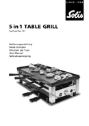 Solis 5 in1 Table Grill 791 pagina 1
