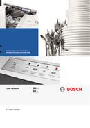 Bosch SMU69N25EU page 1