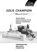 Solis Champion Magic Vac pagina 1