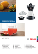 Bosch VitaStyle Citro MCP72GMB side 1