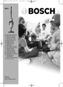 Bosch Flexa ProParquet BHS4422 page 1