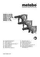 Metabo MHEV 11 BL Seite 1