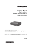 Página 1 do Panasonic SH-ALL1C