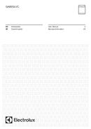 Página 1 do Electrolux GA60GLVC