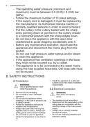 Página 4 do Electrolux GA60GLVC