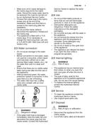 Página 5 do Electrolux GA60GLVC