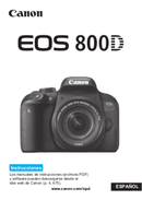 Canon EOS 800D side 1