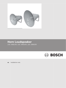 Página 1 do Bosch LBC3484/00