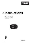 Página 1 do Thule Delight 20201516