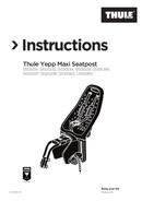 Thule Yepp Maxi Seatpost side 1