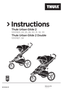 Página 1 do Thule Urban Glide 2 Double