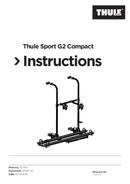 Página 1 do Thule Sport G2 Compact