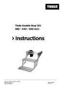 Página 1 do Thule Double Step 12V