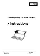 Página 1 do Thule Single Step 12V
