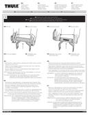 Pagina 1 del Thule Thru-Axle Adapter 15mm x 110mm Boost