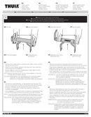 Pagina 1 del Thule Thru-Axle Adapter 15mm